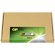 IC-GP151237 - Confezione risparmio 32 Batterie AAA Mini Stilo LR3 GP