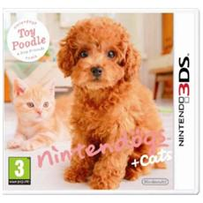 N3DS - Nintendogs + Cats: Barboncino & Nuovi Amici