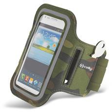 """Fascia da braccio Universale per smartphone fino a 6"""" - Verde militare"""