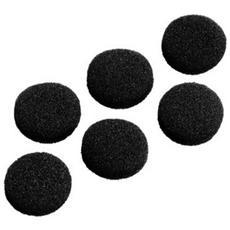 Padiglioni di ricambio, spugna, 45mm, 6 pz