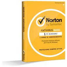 SYMANTEC - Norton AntiVirus Basic 1 Licenza per 1 Dispositivo...
