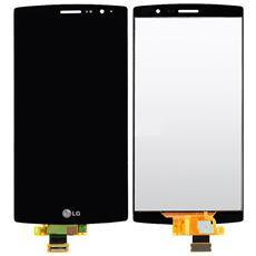 Ricambio Schermo Display Lcd + Touch Screen Unit Digitizer + Front Screen Nero Per G4 H815 + Kit Smontaggio