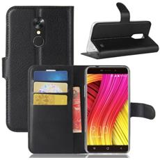 Custodia Portafoglio Finta Pelle Per Smartphone Blackview A10