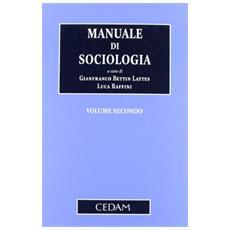 Manuale di sociologia. Vol. 2