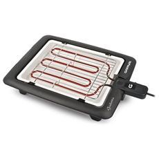 G10024 Giulietta Griglia barbecue elettrica 25 x 31 cm Potenza 2000 Watt