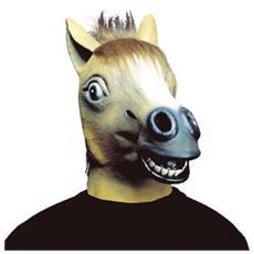 Maschera Cavallo Con Capelli In Peluche