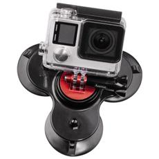 Supporto con tre ventose per GoPro