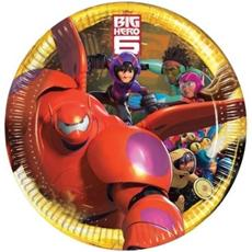 Big Hero 6 - 8 Piatti 23 Cm
