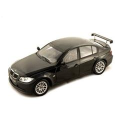 Gy67504 Bmw 320 Si Wtcc Test Car Black 1:18 Modellino