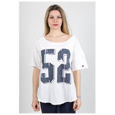 T-shirt American Calling Bianco S