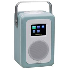 Radio Digitale Dab Play R1 - Bt50a Light Blue - Wifi Spotify Internet Radio