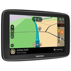 """Navigatore Go Basic Touchscreen 6"""" Auto + 16gb Wi-Fi e Mappe a Vita In Europa"""