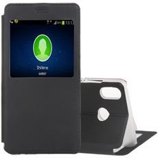 Custodia Portafoglio Finta Pelle Per Smartphone Huawei P20 Lite