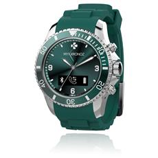 Smartwatch ZeClock Resistente all'acqua IP54 Bluetooth con Funzione Smartphone Verde - Italia