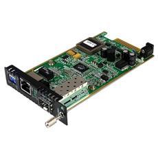 Modulo scheda per convertitori multimediali in fibra Gigabit Ethernet con slot SFP aperto