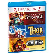 Dottor Strange / Thor - Tales Of Asgard / Invincibile Iron Man (L') (Ltd) (3 Blu-Ray)