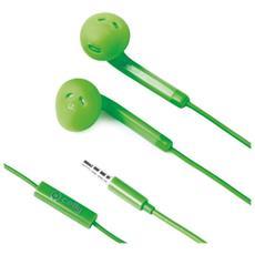 Auricolari FUN35GN Connessione Cavo Colore Verde