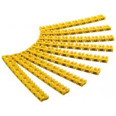 ISWT-MARK4L-CL - Segnacavo Giallo con lettere ''A-C'' per cavi da 4.0mmq