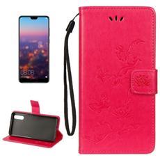 Custodia Portafoglio Finta Pelle Per Smartphone Huawei P20 Pro