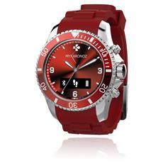 Smartwatch ZeClock Resistente all'acqua IP54 Bluetooth con Funzione Smartphone Rosso - Italia
