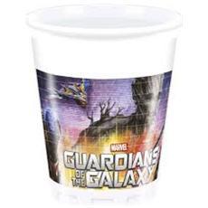 Guardians Of The Galaxy - 8 Bicchieri Di Plastica
