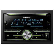Sintolettore CD FH-X730BT Potenza 4x50W Supporto MP3 / WMA / AAC AUX / USB Bluetooth Nero