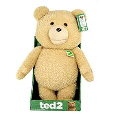 Ted 2 Animated Talking Peluche Pupazzo Pluch Figure Figura Explicit 40 Cm