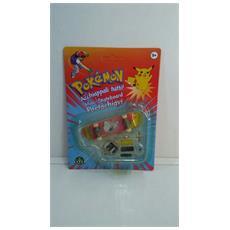 Pokemon Mini-skateboard Portachiavi Con Ruote E Accessori - Butterfree - 8000144512157