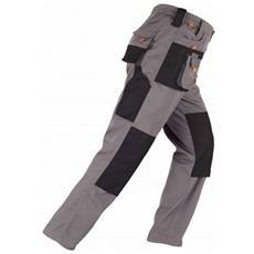 Pantalone Smart Grigio / nero L Kapriol.