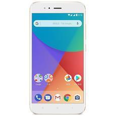 """Mi A1 Oro 32GB Dual Sim Display 5.5"""" Full HD 4G / LTE Slot Micro SD Fotocamera 12Mpx Android - Italia"""