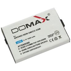 Batteria Brondi New Amico Gsm Mod. Tjb-1 (verificare Misure 53x35x5.5mm)