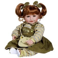 Adora Toddler Time Babies – Froggy Fun - Bambola Esclusiva Da 51 Cm - Finita A Mano - Bambola E Finiture Di Alta Qualità
