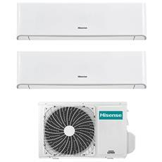 Condizionatore Fisso Dualsplit hisense-TQ-50-1212 Energy Potenza 12000+12000 BTU / H Classe A++ / A+ Inverter e Wi-Fi