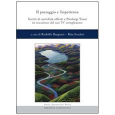 Il paesaggio e l'esperienza. Scritti di antichità offerti a Pierluigi Tozzi in occasione del suo 75° compleanno