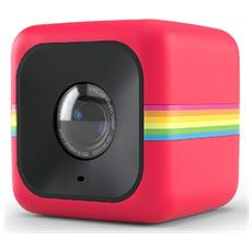 POLAROID - Cube Rosso Action Cam Sensore CMOS Filmati Full HD Antiurto e Splash Proof