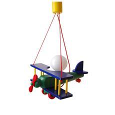 0101.02 Lampadario sospensione aereo piccolo cameretta bambini 32cm x 30cm x 90 cm