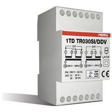 1tdtr30si / ddv – Trasformatore Modul. 30va S. int. 230 12-12-24v