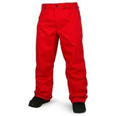Pantalone Uomo Carbon Rosso L