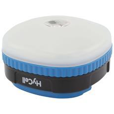 Lampada da Campeggio LED 4 in 1 Colore Bianco e Blu