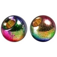 Testine Tungsteno Bead Metallic 4 Fantasia