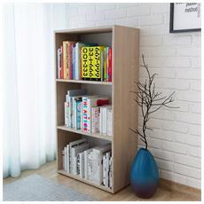 Libreria In Truciolato 60x31x116,5 Cm In Quercia