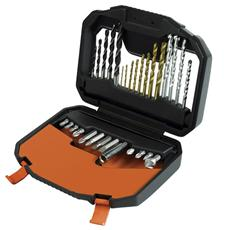 Set di accessori 30 pezzi con punte per trapano e avvitatore