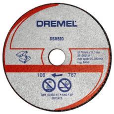 Dischi da Taglio Grigio Metallo 20 mm 2615S510JA