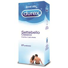 Settebello Classico 24+3 Preservativi - Il Primo Profilattico, Un Classico