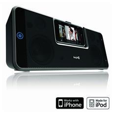 i-Station Rotate, 3,5 mm, iPhone, iPod, AC, Batteria, 200 - 20000 Hz, Nero, AA