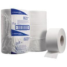 conf. 12 Carta Igienica SCOTTmini Jumbo bianco 8512