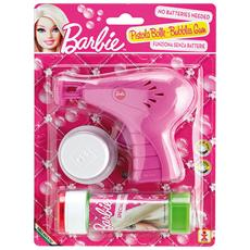 Bolle di sapone Pistola sparabolle + flacone Barbie 060900