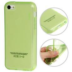 Custodia Tpu Per Iphone 5c Verde Trasparente