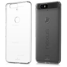 Cover Ultra Fina Trasparente Morbida In Air Gel Per Huawei Nexus 6p