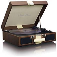 Giradischi Classic Phono TT-33 Colore Marrone